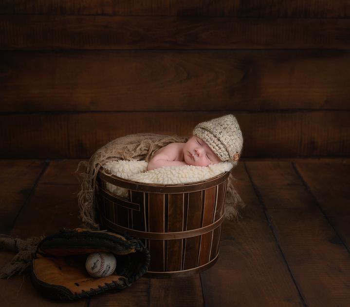 Newborn photo session Long Island New York
